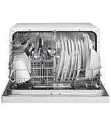 Danby 6 Place Settings Countertop Dishwasher, White