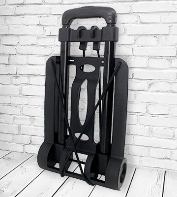 Review of Pacific Outfitters Travel Gear Compact and lightweight Luggage Cart