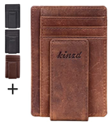 Kinzd Money Clip Front Pocket Wallet