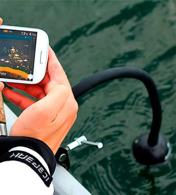 Review of Deeper DP0H10S10-P Wireless Sonar Smart Fish Finder