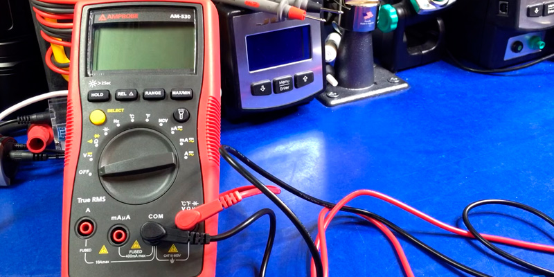 Review of Amprobe AM-530 True RMS Auto-Ranging Multimeter