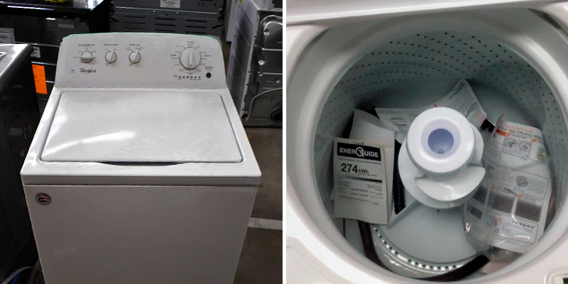 Review of Whirlpool WTW4616FW 3.5 cu. ft. White Top Load Washer