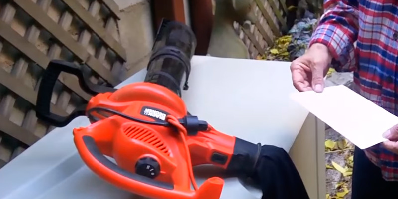 Detailed review of BLACK+DECKER BV3600 12 Amp Blower Vac