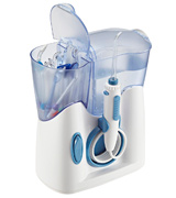 H2ofloss Water Dental Flosser HF-8 Quiet Design(50db) With 12 Multifunctional Tips Countertop Dental Oral Irrigator for Family