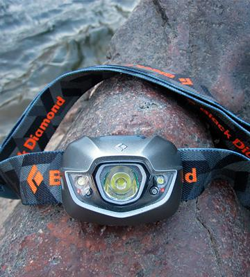 Review of Black Diamond Spot Headlamp Red Night Vision Mode