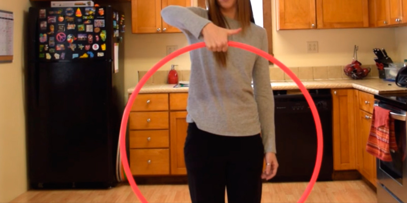 Review of The Spinsterz Performance and Dance Polypro Hula Hoop