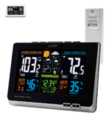 La Crosse 308-1414B Wireless Weather Forecast Station with Alerts