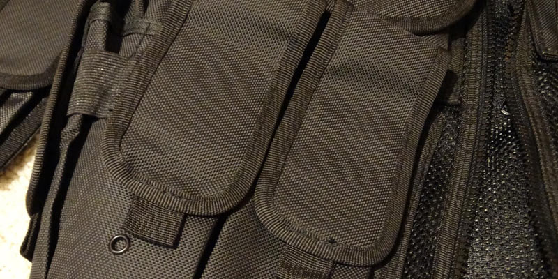 UTG Law Enforcement Tactical Vest in the use