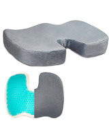 Dr. Flink Chair Seat Cushion Gel-Enhanced Memory Foam