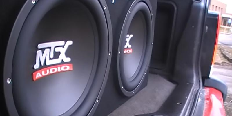 MTX TNE212D Subwoofer Enclosure in the use