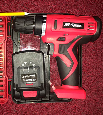 Review of Apollo DT30322 18V Pro Cordless Combo Drill Driver