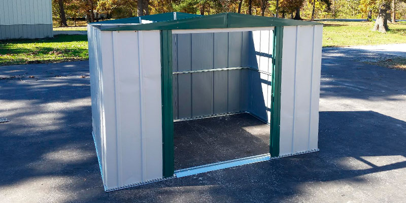Detailed review of Arrow Sheds HM86 Steel Storage Shed
