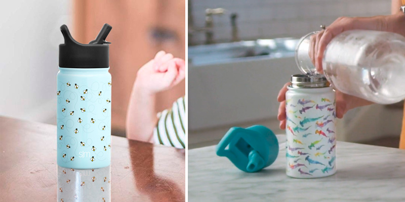 Review of Simple Modern Summit Kids Water Bottle with Straw