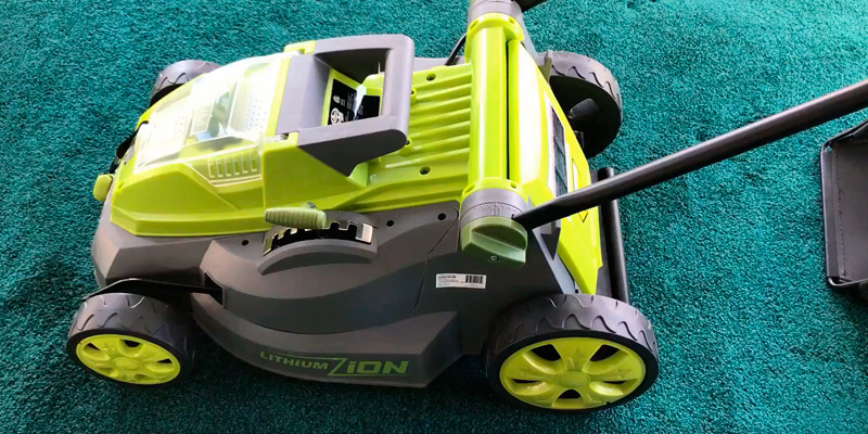 Review of Sun Joe iON16LM 16-Inch 40V Cordless Lawn Mower with Brushless Motor