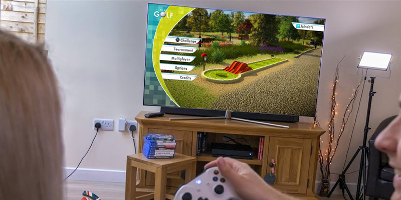 Review of PQube 3D Mini Golf for PlayStation 4