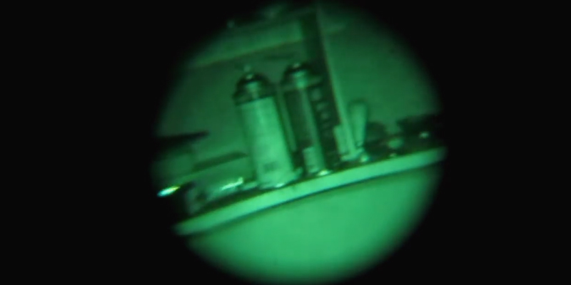 Night Owl Optics 4-Power Lightweight Night Vision Monocular (4x) in the use