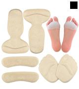 GENTEE Shoe foot pads Gel Metatarsal Pads