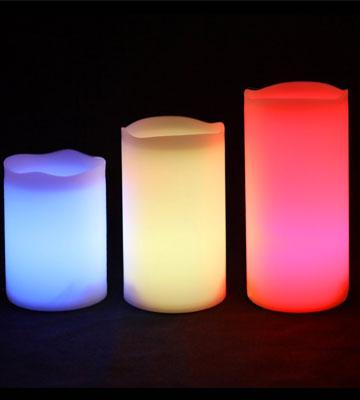 Review of Frostfire Flameless Color Changing Candles