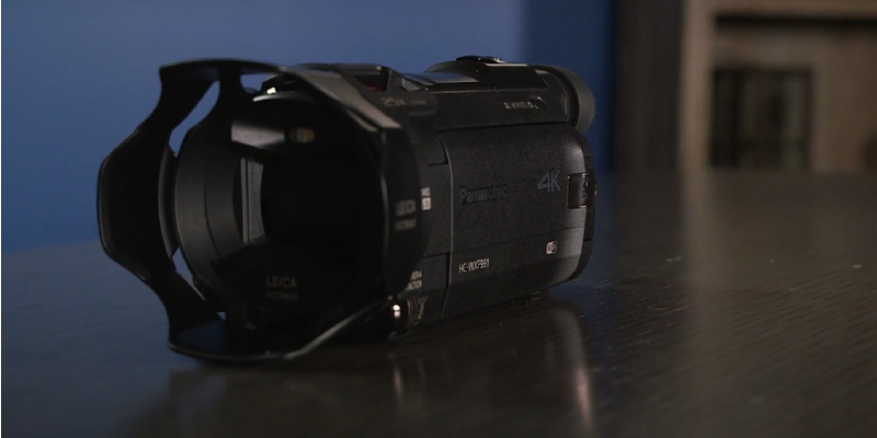 Panasonic HC-WXF991K 4K Camcorder in the use
