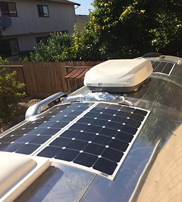 Review of KINGSOLAR Semi Flexible Solar Panel