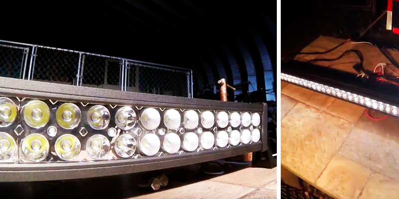 "Northpole Light 50"" LED Light Bar application"
