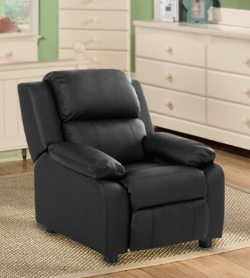 Review of Merax WF036881 Kids Recliner Chair PU Leather