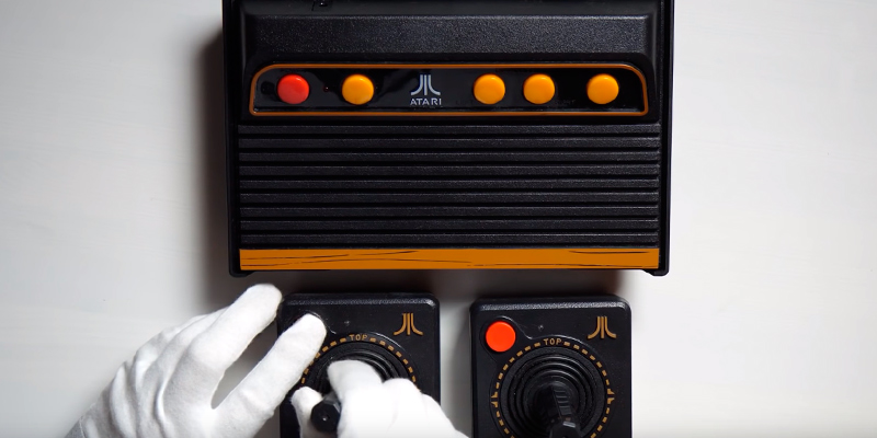 Review of Atari Flashback 8 Gold Classic Game Console