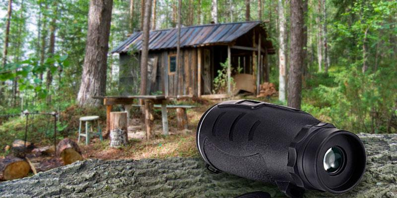 Review of Aurosports 30X50 Compact Pocket-Sized High-Powered Monocular Telescope Binoculars