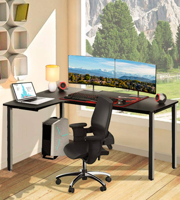 Review of EUREKA ERGONOMIC 60 inch L Shaped Gaming Computer Desk