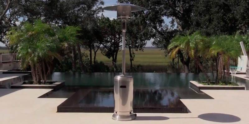 Review of Fire Sense XL-Series 46,000 BTU Stainless Steel Patio Heater