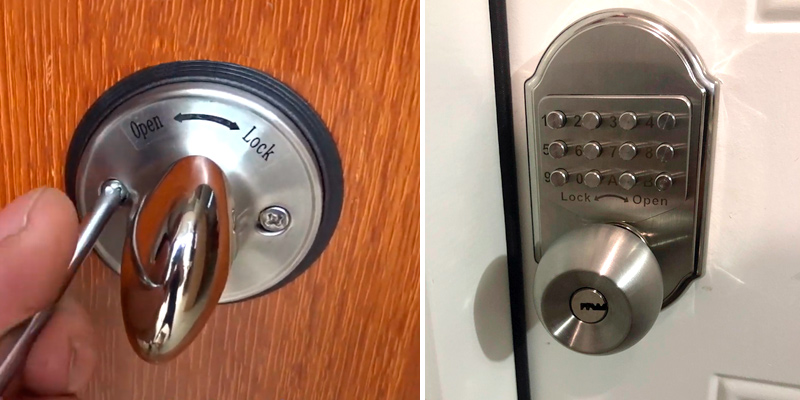 Review of Motovecor Mechanical Keyless Entry Door Lock