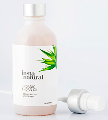 Review of InstaNatural Organic Argan Oil for Hair, Face, Skin and Body - 100% Pure and Certified Organic Cold Pressed Argan Oil of Morocco