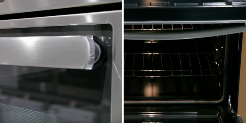 GE JK3500SFSS Double Wall Oven in the use