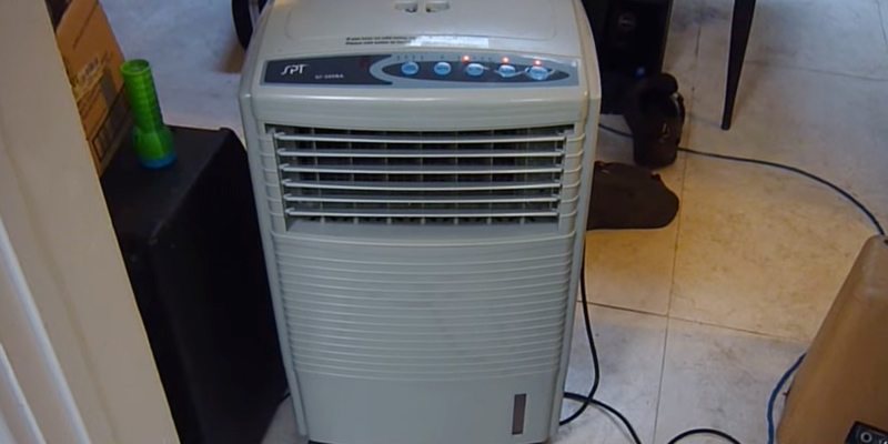 Review Of Sunpentown SF 608R Portable Evaporative Air Cooler
