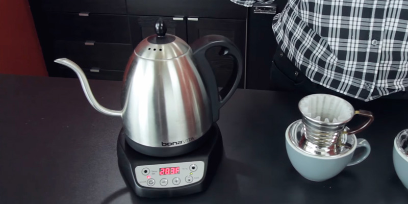 Detailed review of Bonavita BV382510V Digital Electric Gooseneck Kettle