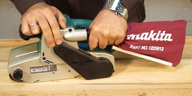 Detailed review of Makita 9403 Belt Sander