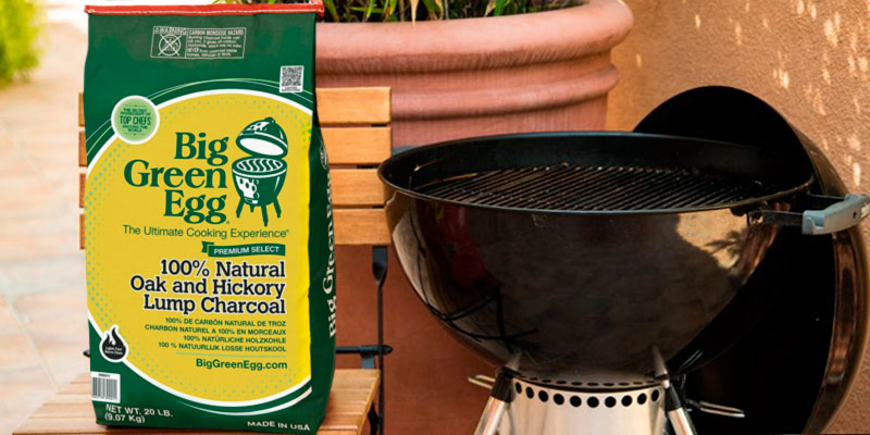 Review of Big Green Egg CP 20-pound Natural Lump Charcoal