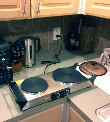 Review of Duxtop Portable Electric Countertop Double Burner