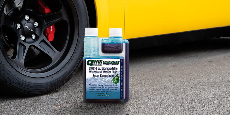 Review of Qwix Mix Biodegradable Windshield Washer Fluid Concentrate