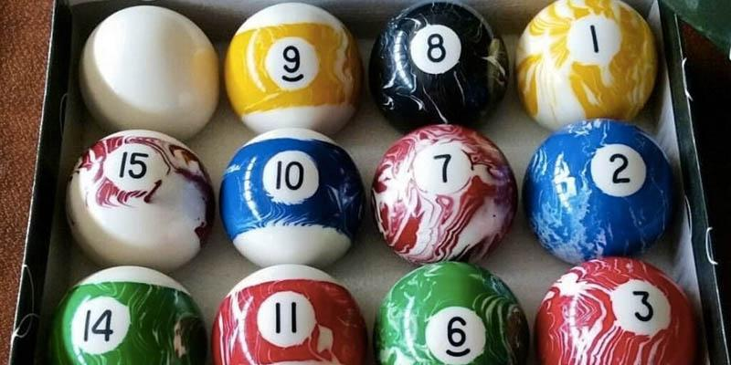 Detailed review of Iszy Billiards Marble/Swirl Style Pool/Billiard Ball Set