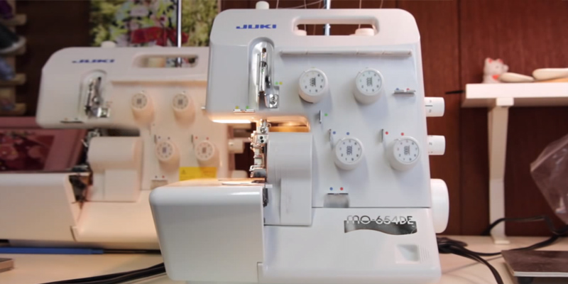 Review of JUKI MO654DE Portable Thread Serger Sewing Machine