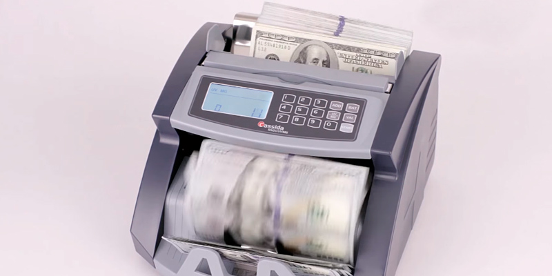 Review of Cassida 5520UM UV/MG Money Counter with Counterfeit Bill Detection
