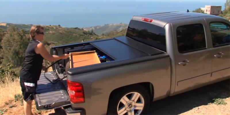 Bak Industries R15120 RollBAK Hard Retractable Truck Bed Cover in the use