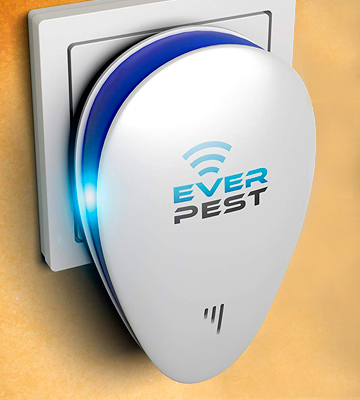 Review of Ever Pest DUAL ULTRASONIC PEST REPELLER