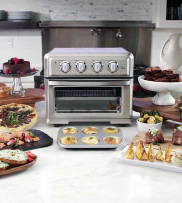 Review of Cuisinart TOA-60 Convection Oven with Air Fryer