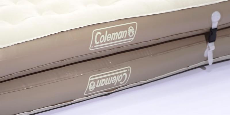 Coleman EasyStay 4-N-1 Single High Airbed in the use