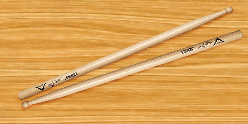 Review of Vater VHVIRGW Virgil Donati Assault Drum Sticks