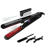 Furiden Professional Ceramic Dual Voltage Steam Hair Straightener