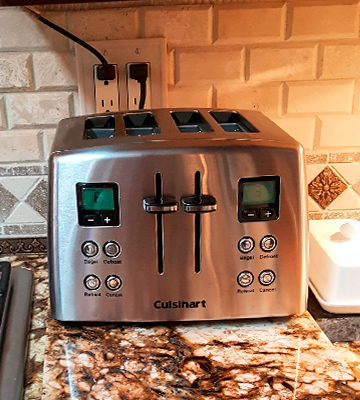 Review of Cuisinart CPT-435 Countdown Stainless Steel Toaster