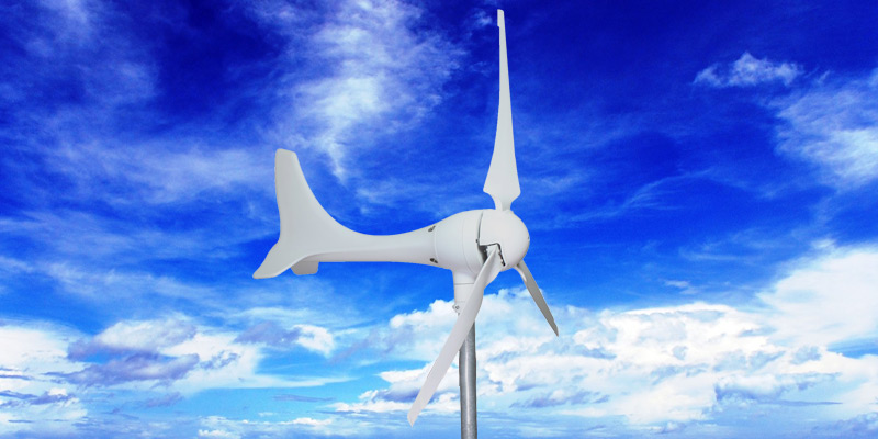 Windmill DA-600 600W Wind Turbine Generator kit in the use